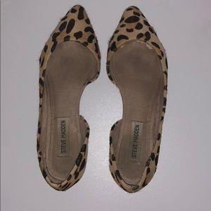 Steve Madden Elusionl Leopard Flats